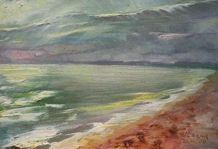 The sea ... The sky ... Crimea-2008 by Alexander Vlasyuk - search and link Fine Art with ARTdefs.com