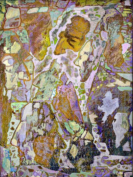 Masks of time by Alexander Vlasyuk - search and link Fine Art with ARTdefs.com