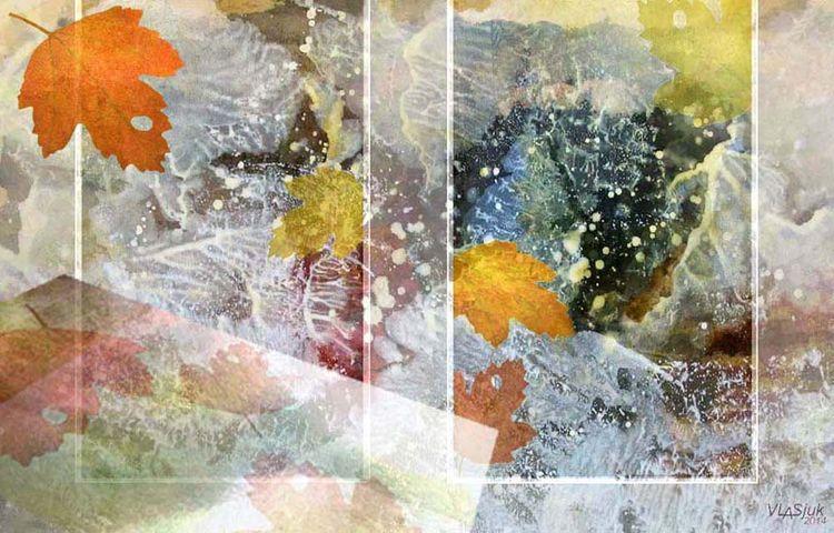 Autumn Silhouettes by Alexander Vlasyuk - search and link Fine Art with ARTdefs.com