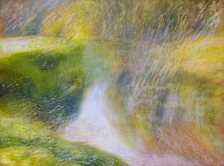 June. Etude-2 by Alexander Vlasyuk - search and link Fine Art with ARTdefs.com
