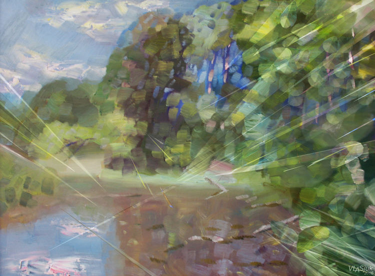 July light by Alexander Vlasyuk - search and link Fine Art with ARTdefs.com