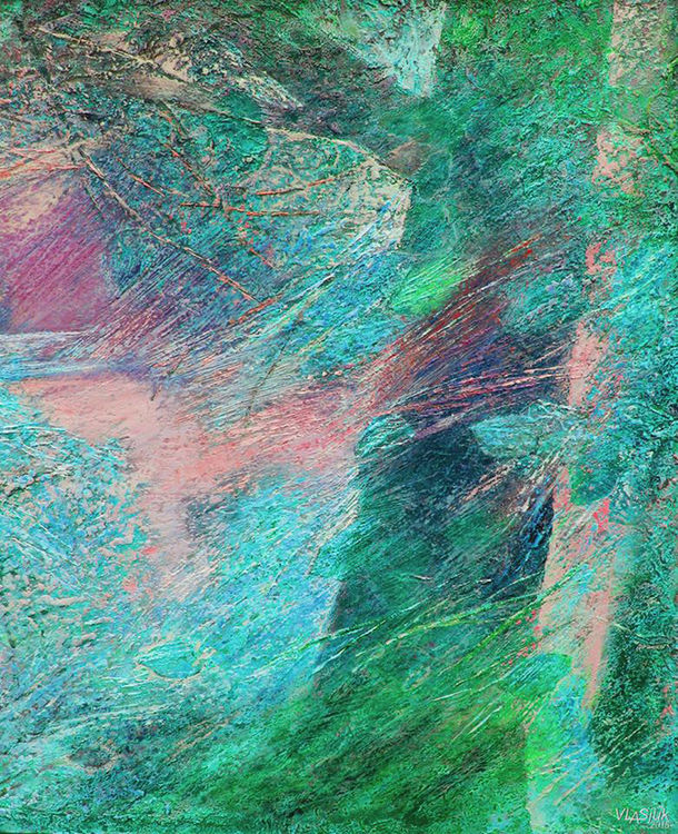 Spring morning by Alexander Vlasyuk - search and link Fine Art with ARTdefs.com