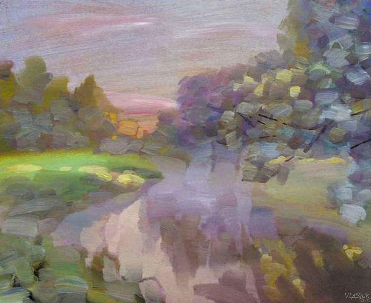 Morning Beam by Alexander Vlasyuk - search and link Fine Art with ARTdefs.com