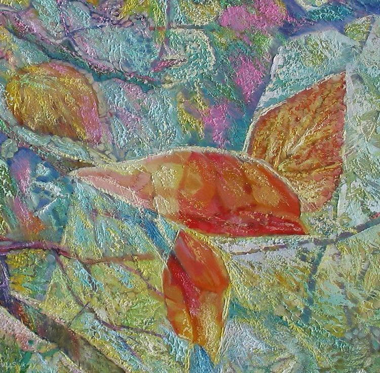 Shine of leaves-2 by Alexander Vlasyuk - search and link Fine Art with ARTdefs.com