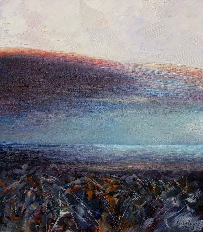 Crimea. Blue Lagoon. by Alexander Vlasyuk - search and link Fine Art with ARTdefs.com