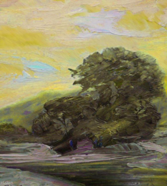 Caucasus. Morning light. by Alexander Vlasyuk - search and link Fine Art with ARTdefs.com