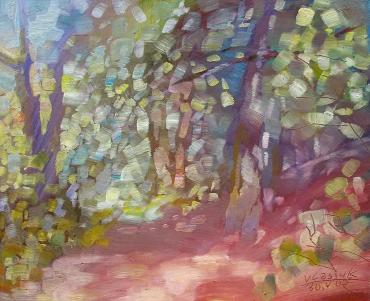 Play of light by Alexander Vlasyuk - search and link Fine Art with ARTdefs.com