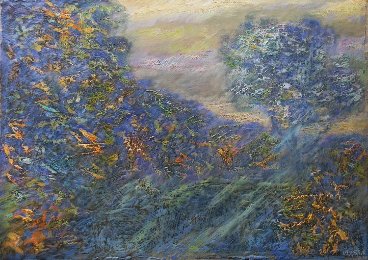 Autumn light by Alexander Vlasyuk - search and link Fine Art with ARTdefs.com
