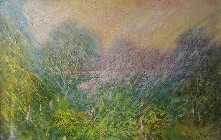 Spring Lights by Alexander Vlasyuk - search and link Fine Art with ARTdefs.com