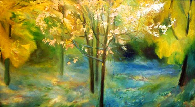 Wet Autumn by Alexander Vlasyuk - search and link Fine Art with ARTdefs.com
