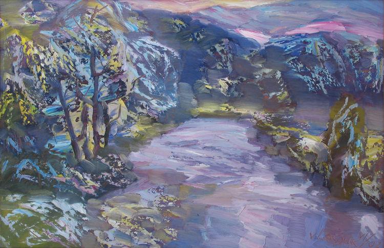 Peace-purity by Alexander Vlasyuk - search and link Fine Art with ARTdefs.com