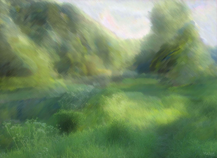 June morning by Alexander Vlasyuk - search and link Fine Art with ARTdefs.com