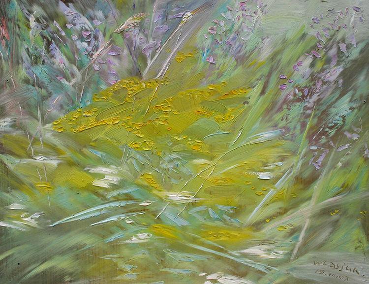 July herbs by Alexander Vlasyuk - search and link Fine Art with ARTdefs.com