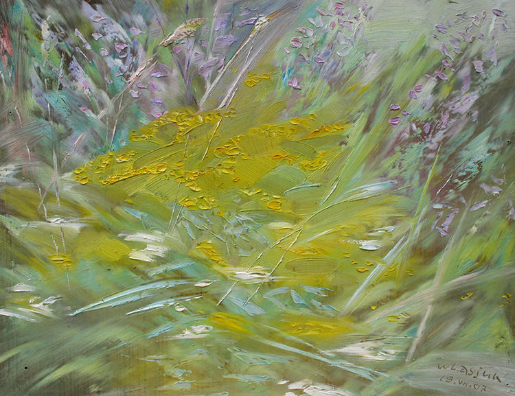 July herbs by Alexander Vlasyuk - search and link Fine Art with ARTdefs.com
