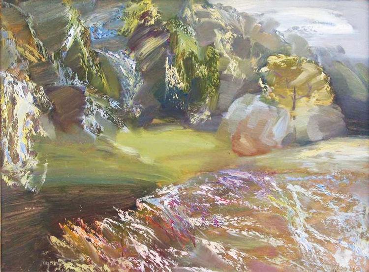 Summer Impression by Alexander Vlasyuk - search and link Fine Art with ARTdefs.com