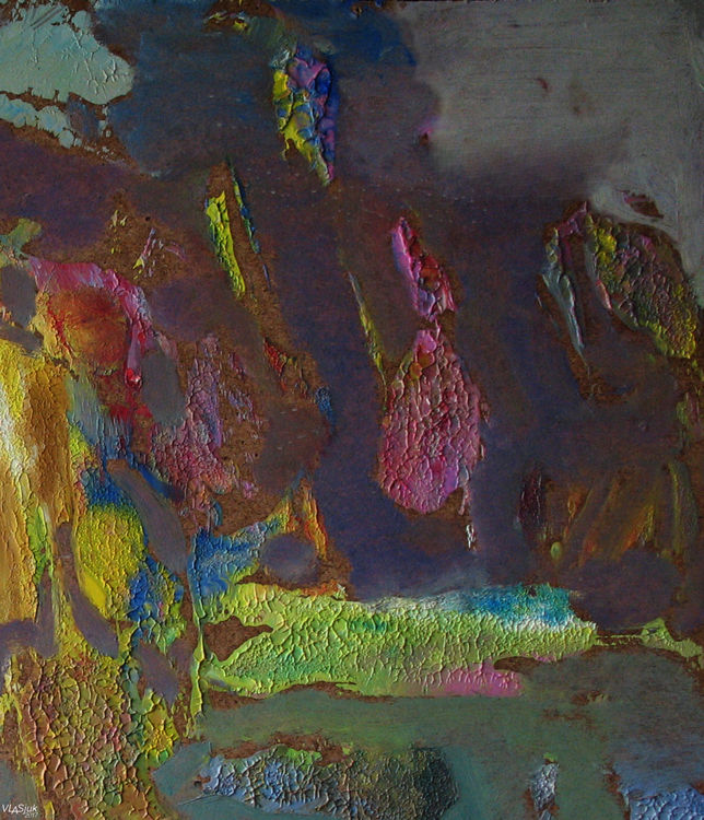 Evening accord by Alexander Vlasyuk - search and link Fine Art with ARTdefs.com