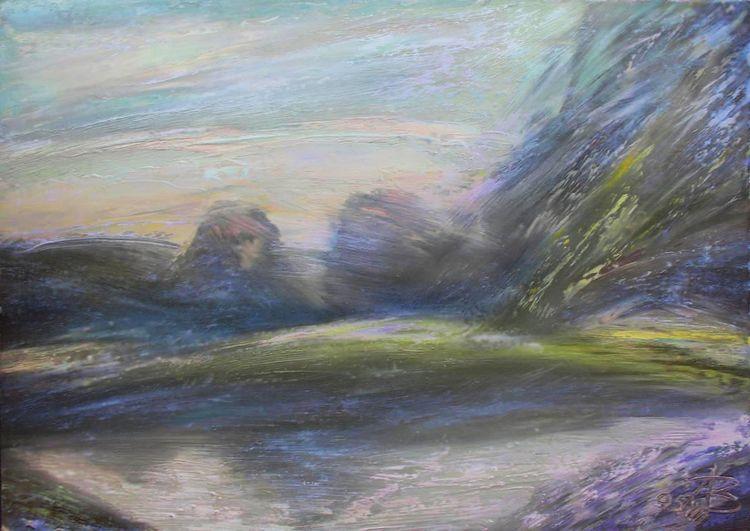July morning by Alexander Vlasyuk - search and link Fine Art with ARTdefs.com