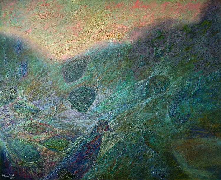 Morning Impression by Alexander Vlasyuk - search and link Fine Art with ARTdefs.com