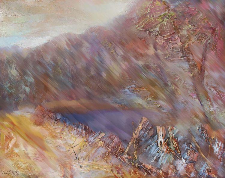 Autumn winds by Alexander Vlasyuk - search and link Fine Art with ARTdefs.com
