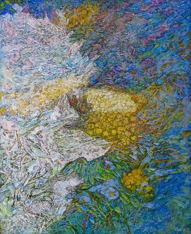 Shadows of clouds by Alexander Vlasyuk - search and link Fine Art with ARTdefs.com
