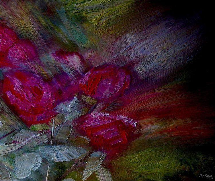 Crimea. Evening twinkling by Alexander Vlasyuk - search and link Fine Art with ARTdefs.com
