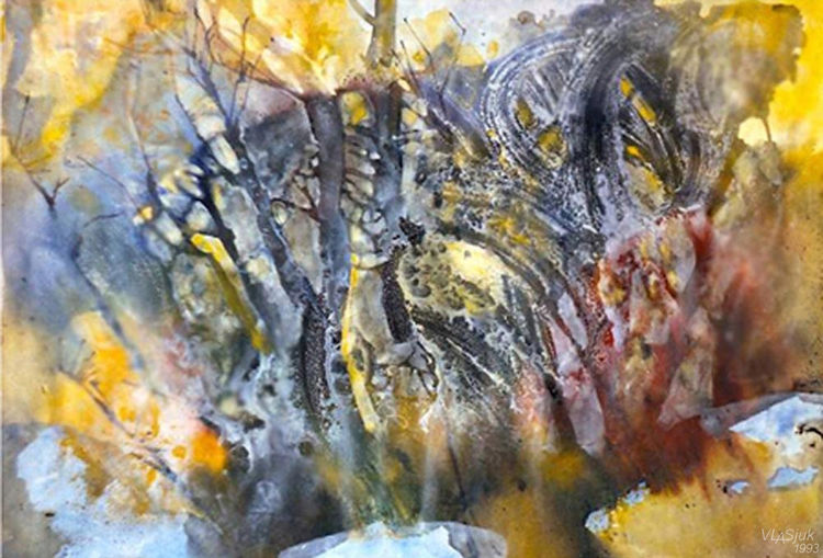Autumn in Berlin by Alexander Vlasyuk - search and link Fine Art with ARTdefs.com