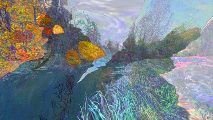 """Winds of Autumn"" by Alexander Vlasyuk - search and link Fine Art with ARTdefs.com"