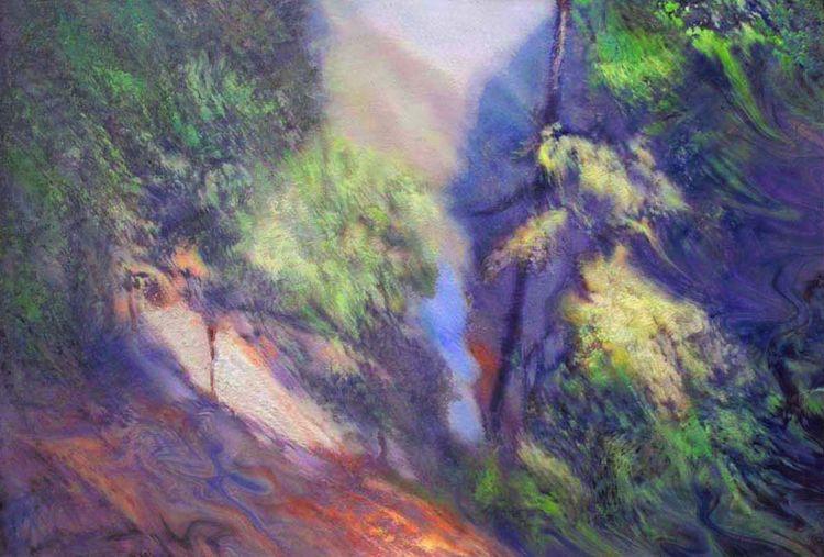 Impression of the morning. Narochanka River. by Alexander Vlasyuk - search and link Fine Art with ARTdefs.com