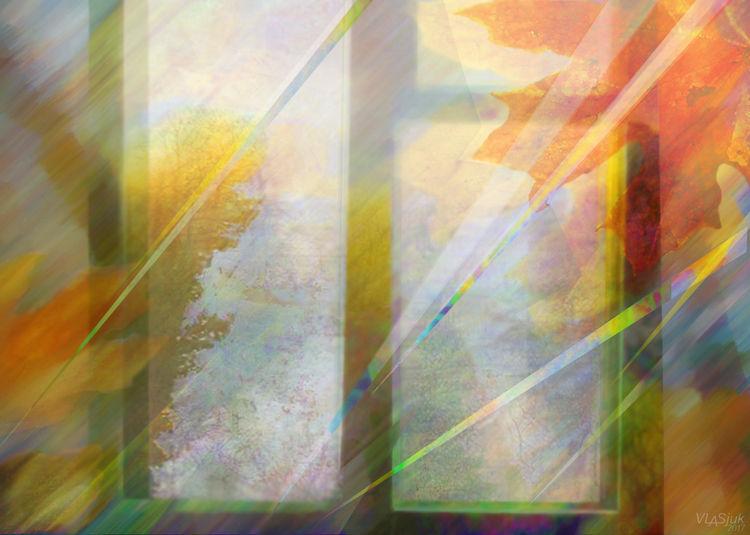 Autumn melody by Alexander Vlasyuk - search and link Fine Art with ARTdefs.com