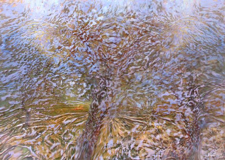 Autumn garden by Alexander Vlasyuk - search and link Fine Art with ARTdefs.com