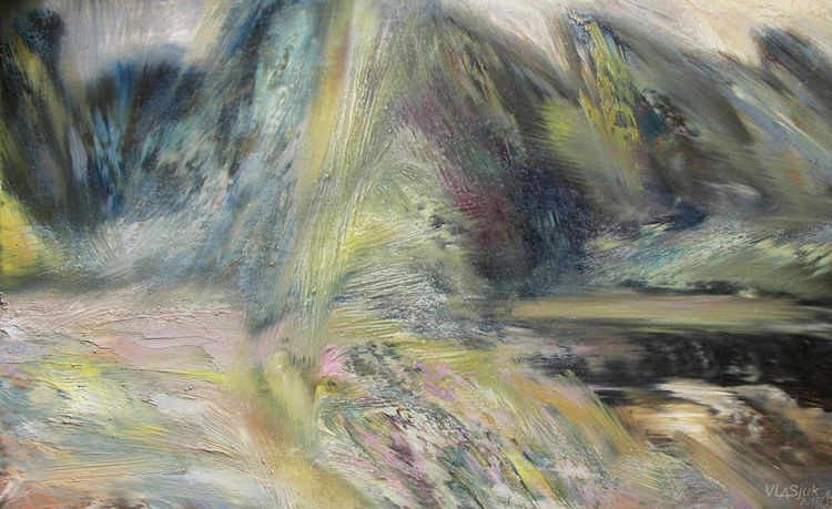 Winds of the Svisloch River-1 by Alexander Vlasyuk - search and link Fine Art with ARTdefs.com