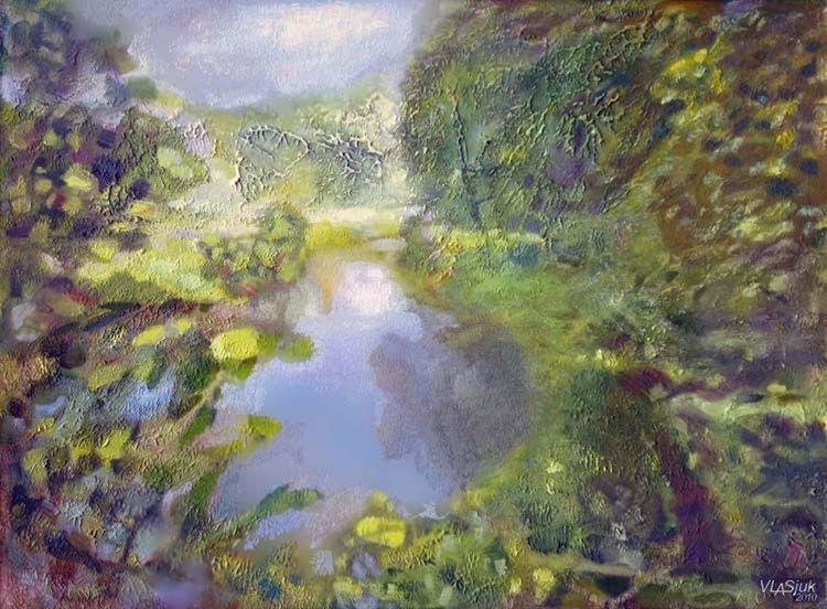 Pond-1 by Alexander Vlasyuk - search and link Fine Art with ARTdefs.com