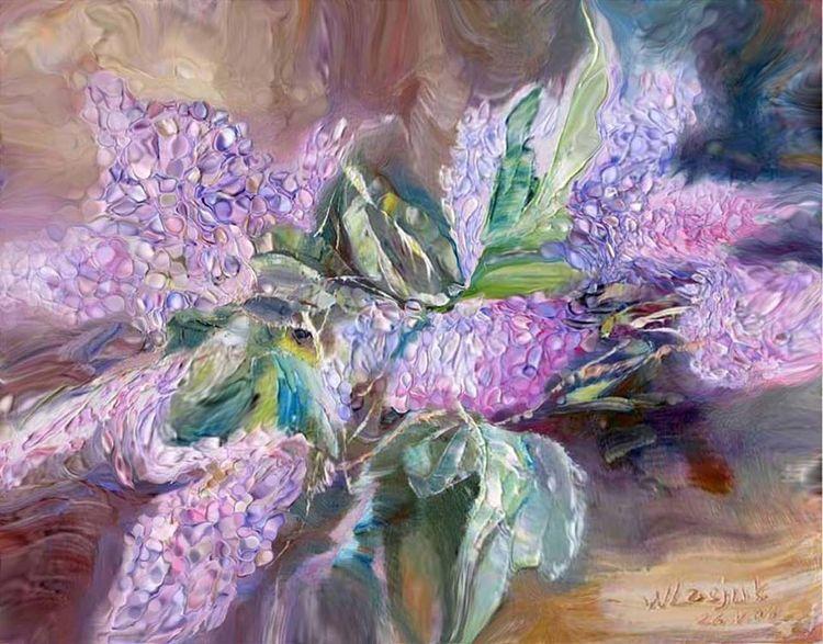 Lilac by Alexander Vlasyuk - search and link Fine Art with ARTdefs.com