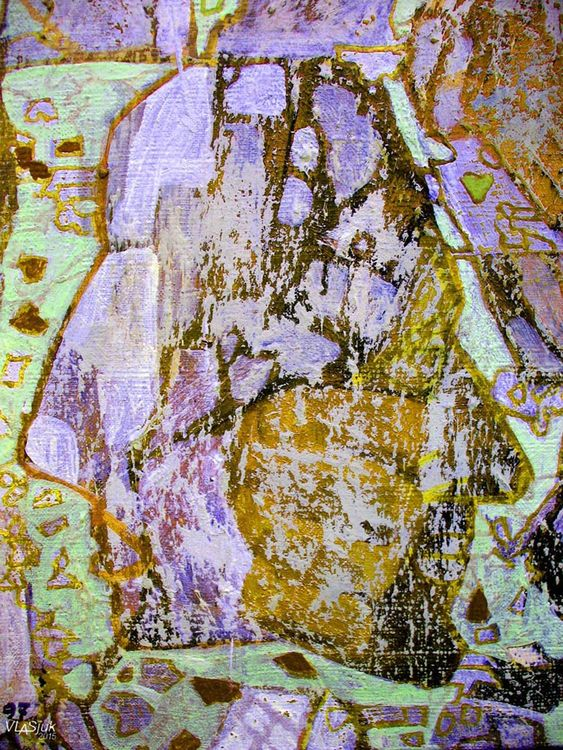 Two-faced Janus by Alexander Vlasyuk - search and link Fine Art with ARTdefs.com