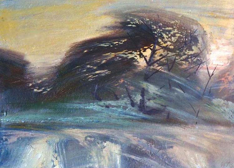 Morning dawn by Alexander Vlasyuk - search and link Fine Art with ARTdefs.com