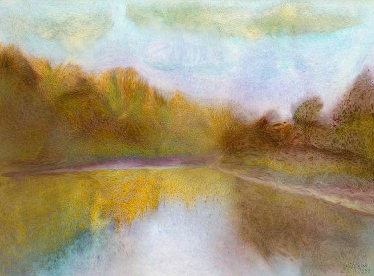 Noon on the Berezina by Alexander Vlasyuk - search and link Fine Art with ARTdefs.com