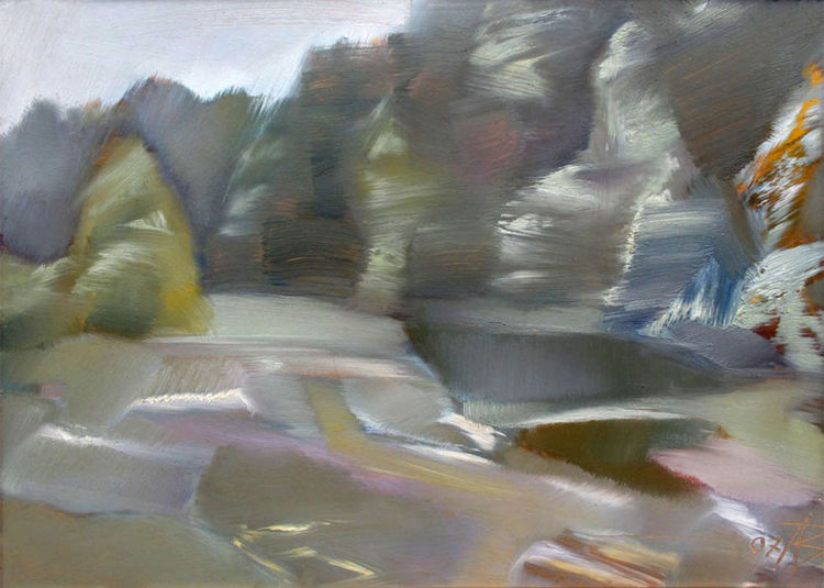 Spring light-3 by Alexander Vlasyuk - search and link Fine Art with ARTdefs.com
