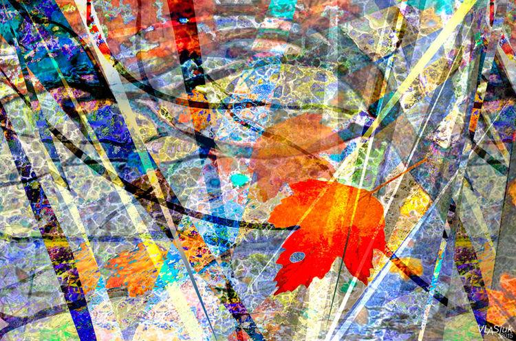 Mosaic of Autumn by Alexander Vlasyuk - search and link Fine Art with ARTdefs.com