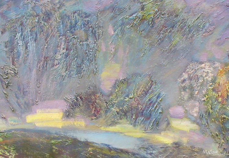 Spring rain by Alexander Vlasyuk - search and link Fine Art with ARTdefs.com