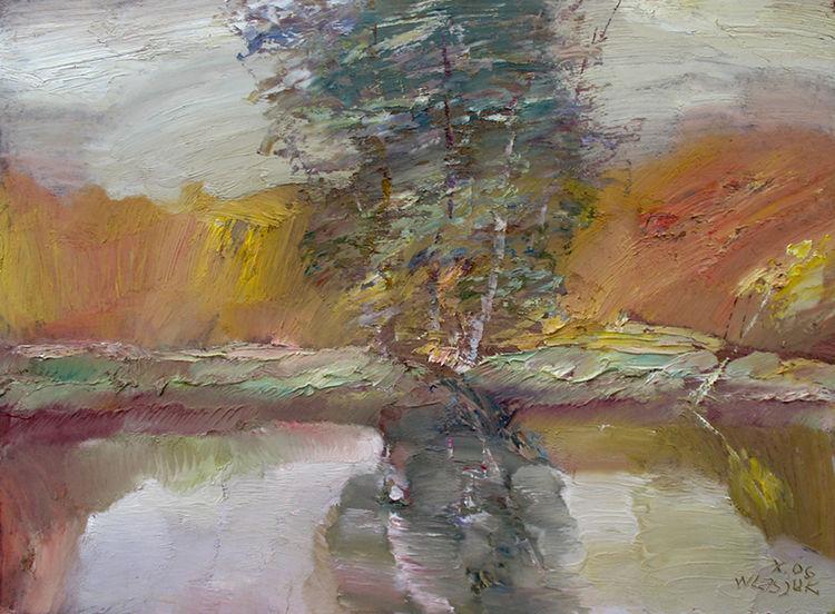 Autumn Reflections-2 by Alexander Vlasyuk - search and link Fine Art with ARTdefs.com