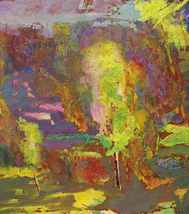 Autumn flicker by Alexander Vlasyuk - search and link Fine Art with ARTdefs.com