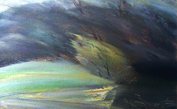 Gust of wind by Alexander Vlasyuk - search and link Fine Art with ARTdefs.com