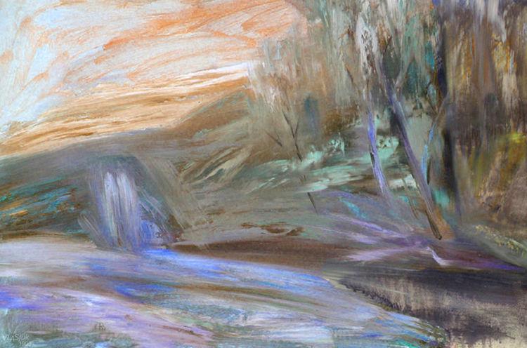 Spring Etude by Alexander Vlasyuk - search and link Fine Art with ARTdefs.com
