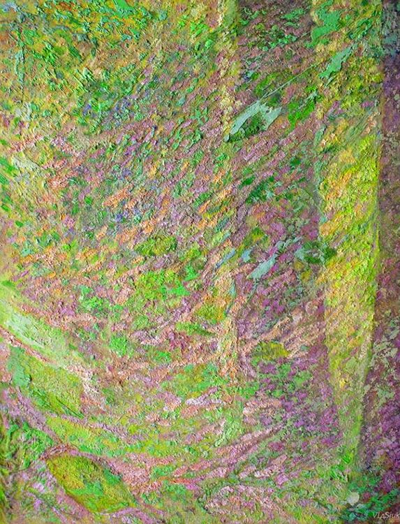 Green Paradise by Alexander Vlasyuk - search and link Fine Art with ARTdefs.com
