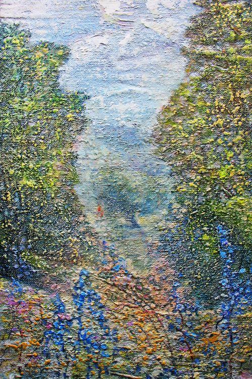 Summer Mirage by Alexander Vlasyuk - search and link Fine Art with ARTdefs.com