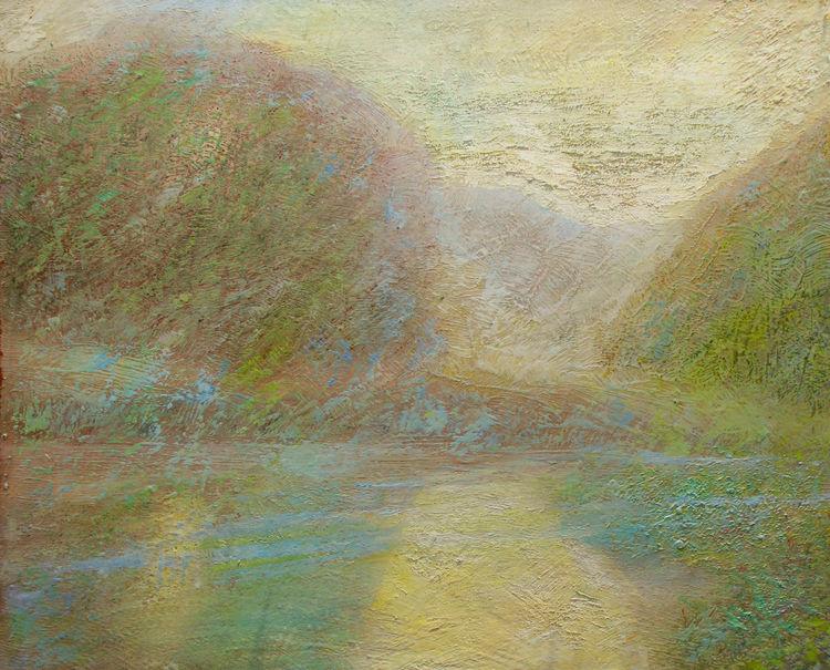 The Belarusian dawn by Alexander Vlasyuk - search and link Fine Art with ARTdefs.com