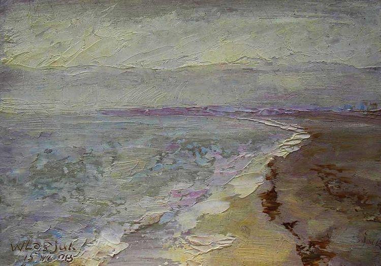 Crimea. On the shore of the Black Sea. by Alexander Vlasyuk - search and link Fine Art with ARTdefs.com