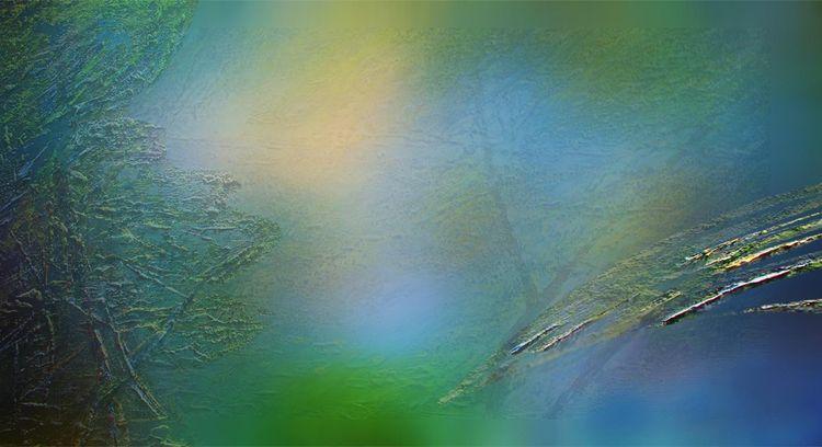 So gently the sky blossomed by Alexander Vlasyuk - search and link Fine Art with ARTdefs.com