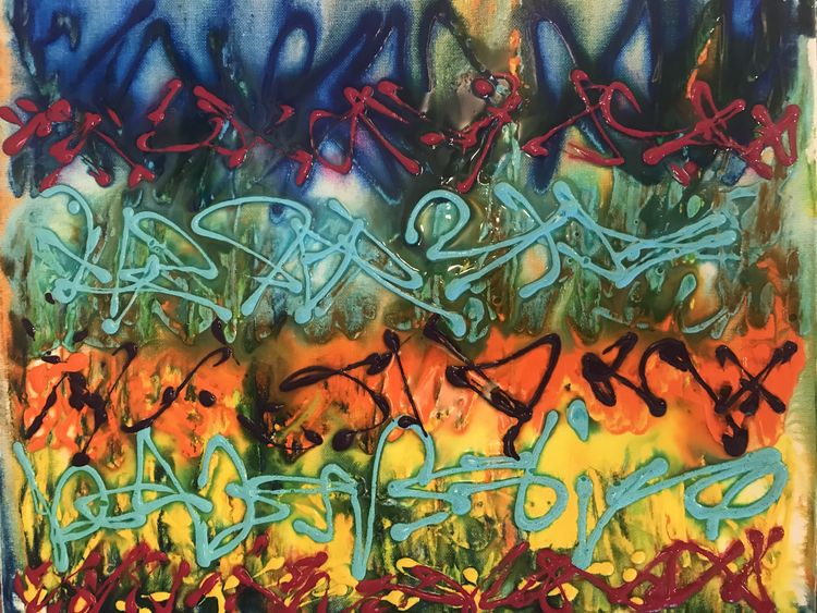 """Stigma of paint"" by Stephanie Levin - search and link Fine Art with ARTdefs.com"