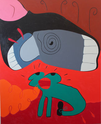 All Bugs Go to HeVEN by Robert Bertone - search and link Fine Art with ARTdefs.com